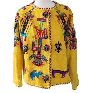 Michael Simon Multicolored Sweater size M
